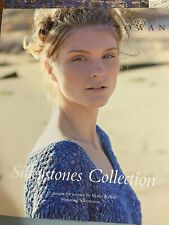 "Rowan Silkystones - 12 designs by Marie Wallin for Silkystones 20 sts = 4"""