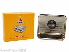 Gizeh Metall Rollbox Drehmaschine Zigaretten Dreher Qualität zum Aktionspreis