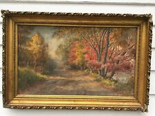Watercolor By Listed Artist William Dana Parish