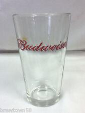 Budweiser beer glass bar glasses 1 Anheuser-Busch brewery barware glassware GP2