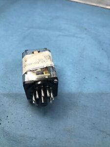 Getinge sterilizer relay  P/N 4693355-02 Latching 11 Pin,Octal,24VAC