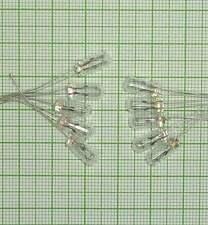 10 Stück Miniatur Glühlämpchen. (12V, 4,7 X 11mm, mini Lampe, Glühlampen) - E