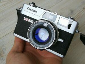 Canon Canonet QL17 G-III rangefinder camera SERVICED