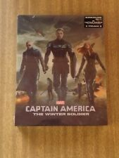 Captain America The Winter Soldier Lenticular Blufans Steelbook (Sealed)