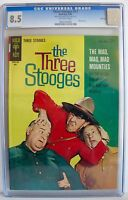 The Three Stooges No. 17 CGC 8.5 Random House Archives File Copy 1964 Gold Key