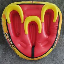 "Ho Formula 3 inflatable Towable red & yellow Mini display Tube aprox 22""x 20"""
