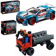 Técnica Lego 42077+42084 rallyauto + cargadores de Skip DESDE 10 años 2 Artículo