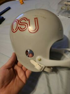 Vintage 1970s Hutch Osu Ohio State football replica Helmet  not for contact play