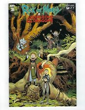 RICK & MORTY VS DUNGEONS & DRAGONS # 3 Variant 1:20 Cover NM