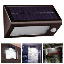 Pir garden floodlights security lights with solar sensor ebay solalite 400 lumens 32 led smd solar powered rechargeable pir motion sensor security light aloadofball Gallery