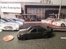 Mercedes-Benz 1993 Black 190E 2.5Liter 16 Evo Mini car Scale - LOOSE!NO BOX!