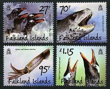 Falkland 2011 Pinguine Seeleopard Kalmar Penguins Vögel Birds 1152-55 ** MNH
