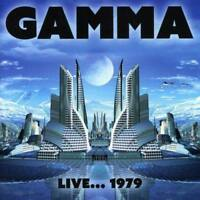 GAMMA ‎– Live 1979 FROM RAINBOW MUSIC HALL DENVER (NEW/SEALED) REMASTERED CD
