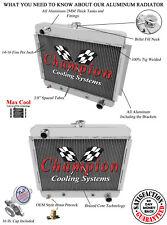 66 67 Chevrolet Nova V8 Conversion Champion 3 Row Aluminum Radiator CC6267