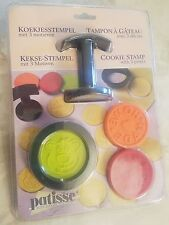 NEW SEALED Patisse 02031 Cookie Stamp with 3-Imprints Holland