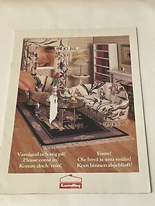 Lundby Dollhouse and Furniture Catalog - 20 pgs Vintage 1985