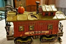 Department 56 Halloween Haunted Rails CaBoose 10th Anniversary 4020957 Retired