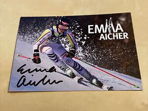 Originalautogramm Emma Aichner - Deutschland - Ski-Alpin