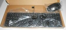 HP WIRED KEYBOARD (TPC-P001K) & MOUSE (TPC-P001M) KIT P/N: 928923-001 NEW IN BOX