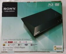 Sony Internet Audio & Video BDP-S1100 Blu-Ray Disc/ DVD Player NEW