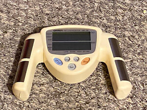 Omron Model HBF-306 Fat Loss Monitor Handheld Body Fat / BMI Tested Working