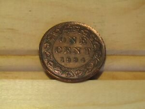 1894 Victoria large cent...great detail...try a bid!