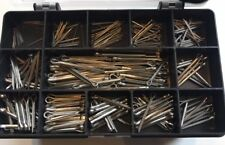 Assorted Imperial A2 Stainless Steel Split Cotter Pins x 250 Pcs
