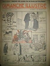 N° 731 REPORTAGES PHOTOS HISTOIRE ROMAN BD BICOT M. POCHE DIMANCHE ILLUSTRE 1937