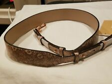 Michael Kors Oyster Genuine Leather Guitar Strap 30s8tg9n1n