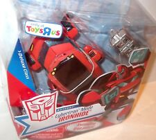 ✰ Transformers Animated DELUXE TOYS R US IRONHIDE figure ✰ WORLDWIDE SHIP MOC