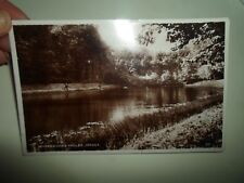 JERSEY, Waterworks Valley Vintage Real Photo Postcard Franked Jersey 1943 §B2399