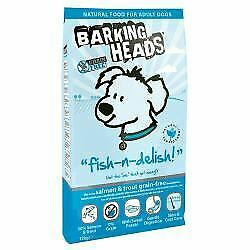 Barking Heads Fish N Delish Grain Free - 12kg - 219895