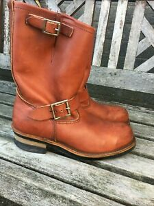 Redwing / Red wing VINTAGE 8271 Engineer Boots - UK 7