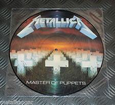 Metallica 'Master Of Puppets' LTD Edn Pic LP Picture Disc Vinyl Record Rare EX