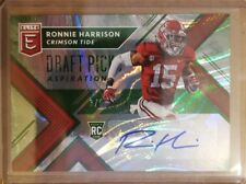 2018 Elite Ronnie Harrison Rookie Auto card #'d 3/5 Crimson Tide Jaguars