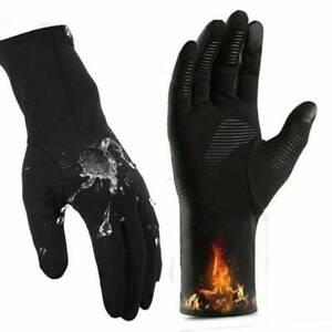 Winter Touch Screen Outdoor Driving Warm Windproof Men Women Windproof Gloves