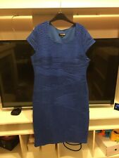 Debenhams Collection Royal Blue Body Con Style Dress Size 18. Length Approx 40in