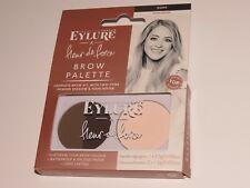2 x EYLURE Fleur de Force Brow Palette Brow Powder & Highlighter Shade DARK
