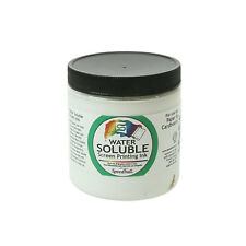 Speedball Water Soluble Screen Printing Ink White 8oz