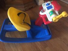 Vintage Today's Kids Baby toddler Acitivity Rocker strap in seat GUC