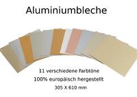 Spiegel Alublech Aluminium Tafel Blech Platte 0.3 0.4 0.5 0.6 0.8 1.0mm Dicken