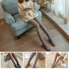 Flawless Legs Fake Translucent Warm Fleece Pantyhose Thick Winter Women Tights