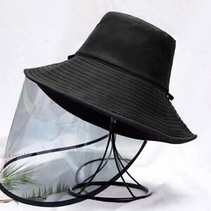Protective Cap Saliva-proof Dust-proof Sun Visor Hat Cover Bucket Fisher shield