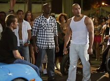 PHOTO FAST AND FURIOUS 5 - VIN DIESEL & TYRESE GIBSON (P1) FORMAT 20X27 CM