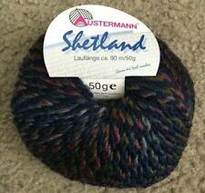 Austermann Shetland Yarn Color 04 80% Virgin Wool 20% Polyester 50g worsted