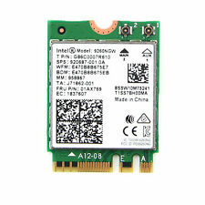 Intel Wireless-AC 9260 NGW NGFF Dual Band 802.11ac 1730Mbps WiFi Card BT 5.0