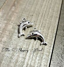 Dolphin Charms Dolphin Pendants Silver Dolphin Charms Ocean Charms Sea Charms 10