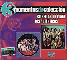 Las Estrellas De Plata y Los Autenticos Box set 3CDS