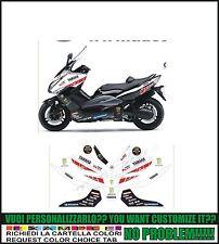 kit adesivi stickers compatibili tmax 2008 2011 team yart