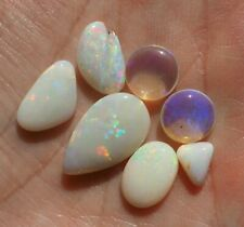8.17 ct - Australian Opal Gems - Fully polished with play of color - VIDEO